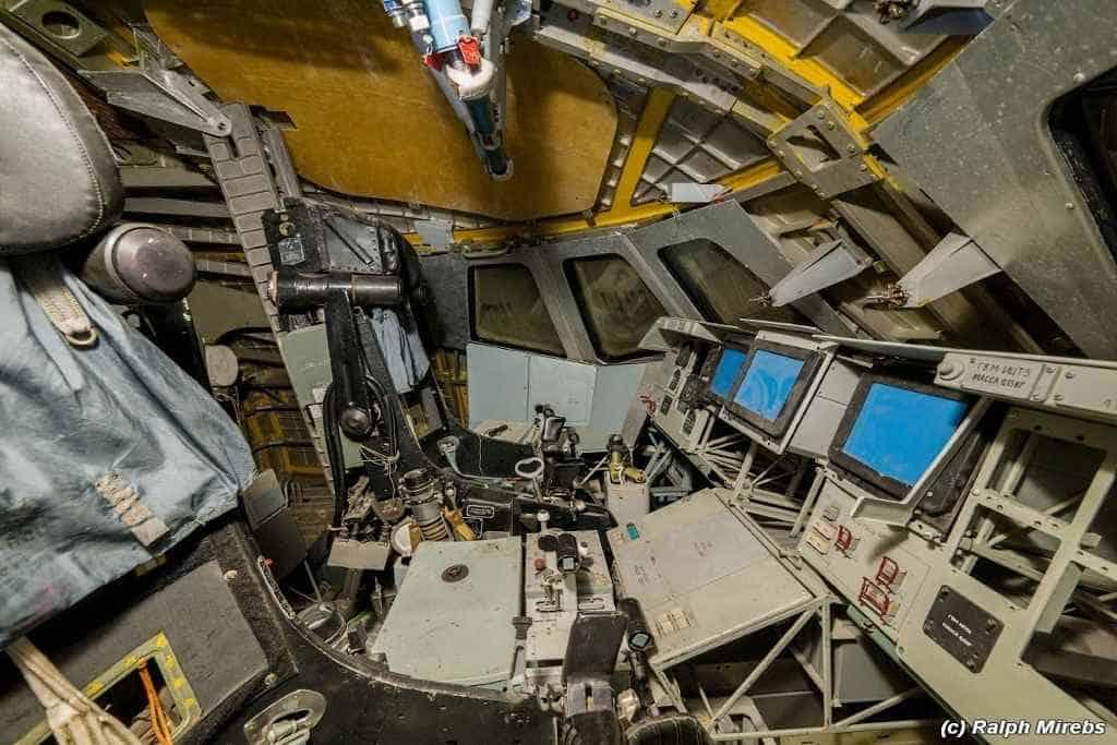 Im Innern der Buran: Das Cockpit. (Ralph Mirebs)