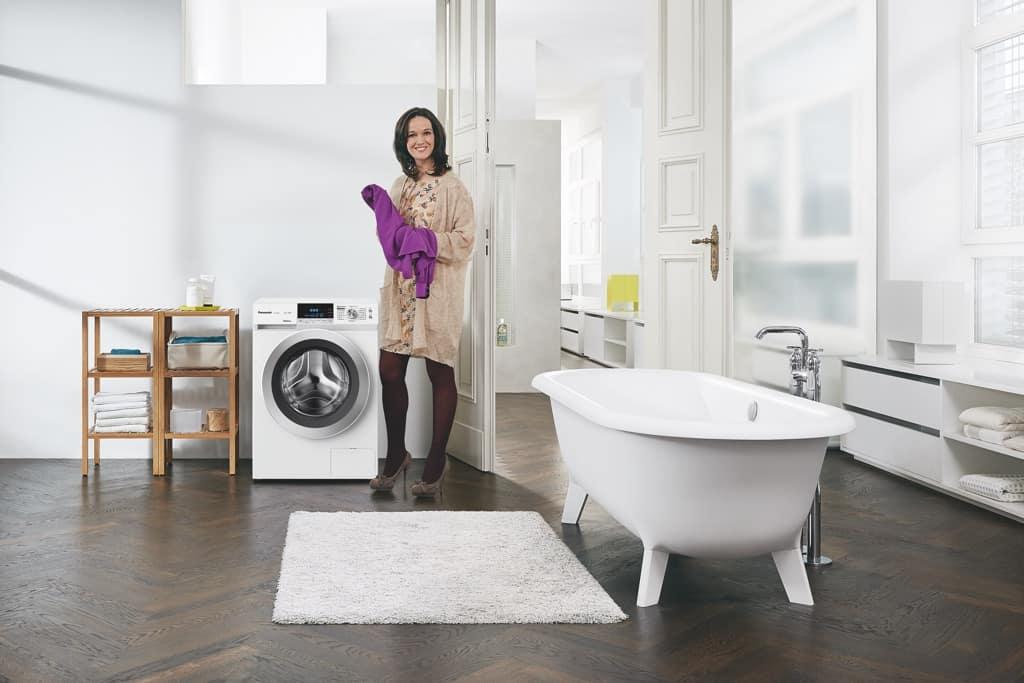 die intelligente waschmaschine der smarte weg zu sauberer w sche panasonic experience. Black Bedroom Furniture Sets. Home Design Ideas