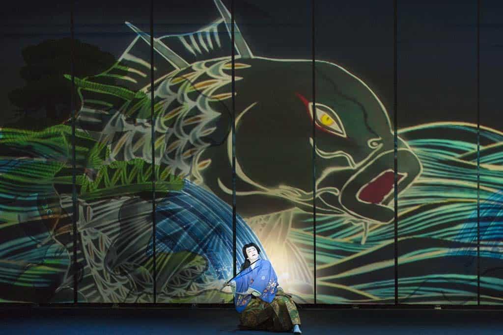 Panasonic Projektoren: Kabuki Spektakel