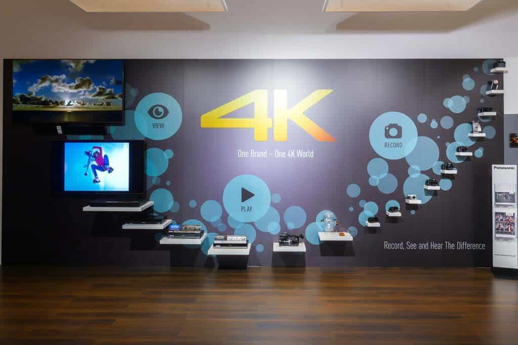 Panasonic 4K. Vom Bildsensor bis an die Wohnzimmerwand