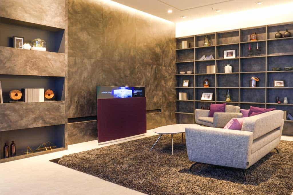Panasonic Smart Home. Wohnzimmer.