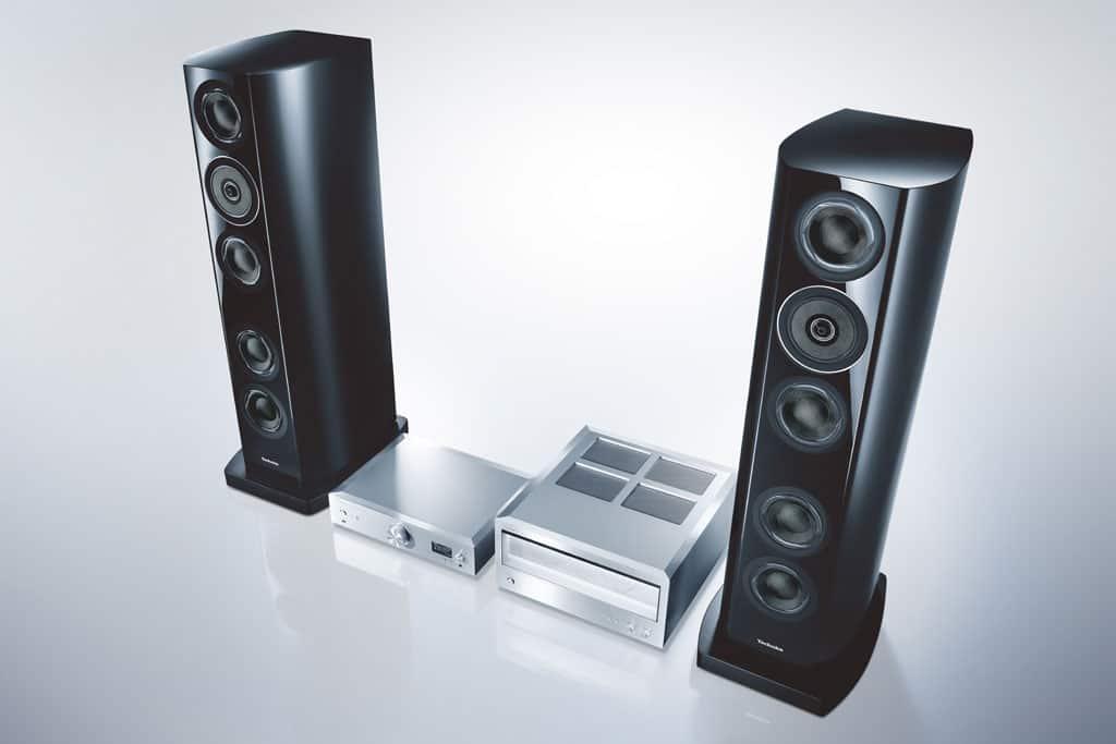 Technics Reference Class R1-Serie für ein Hörerlebnis mit Superlativanspruch