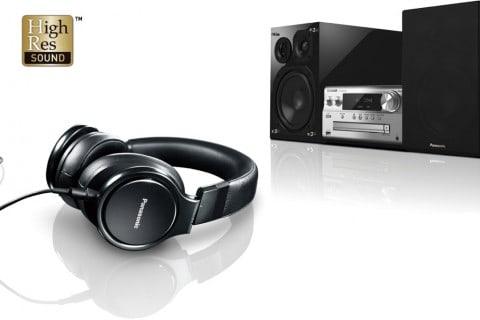 High Resolution Audioquellen von Panasonic. Musik und Nachbarn.