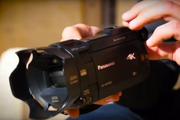Neue 4K Camcorder. Spielend einfache Kinoeffekte