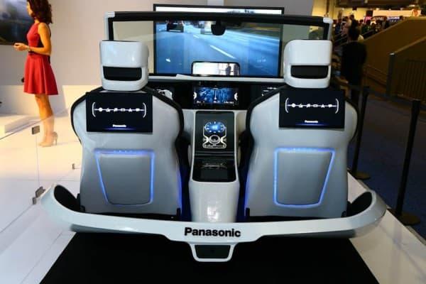 eCockpit von Panasonic