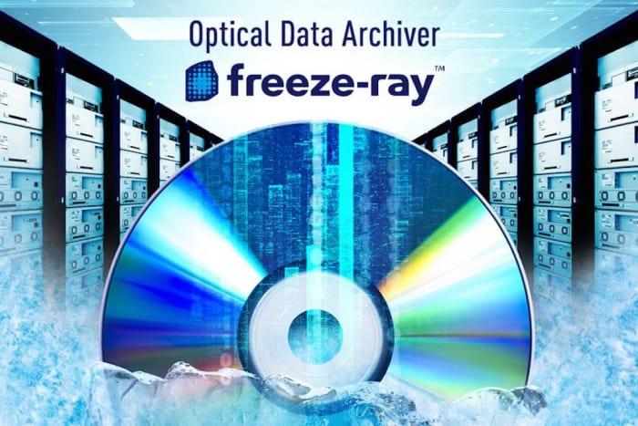 Blu-ray Discs mit 100 GB Speicherplatz pro Scheibe
