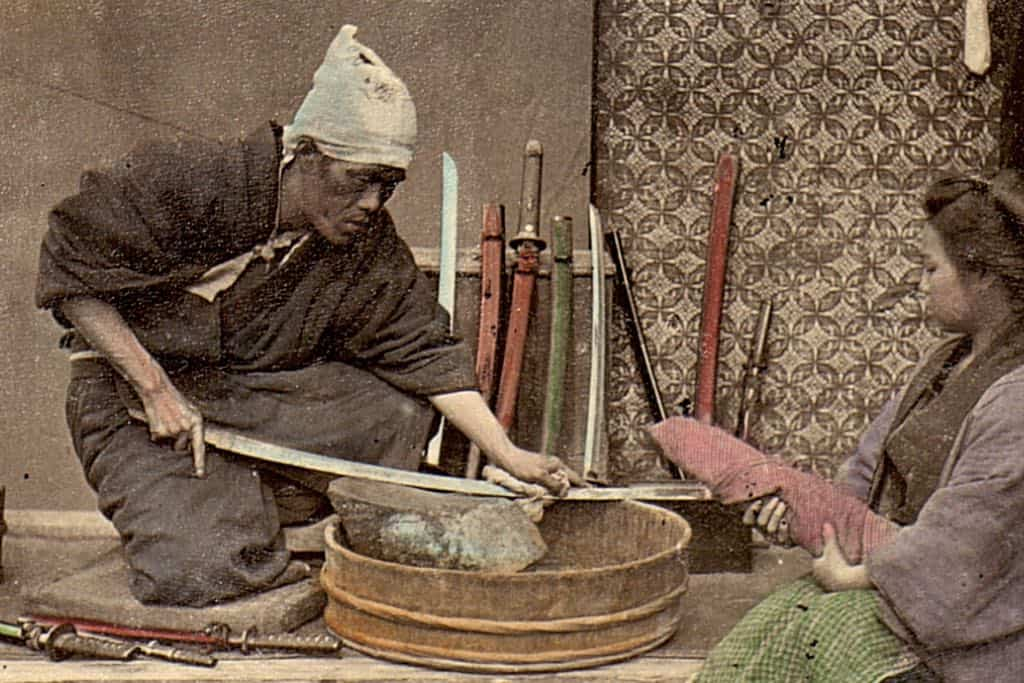Die Geschichte der japanischen Klingen