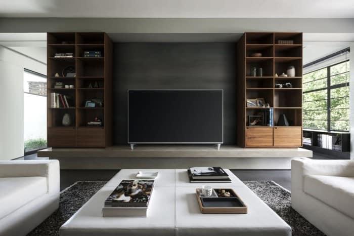 VIERA Tvs haben viele Möglichkeiten des Empfang