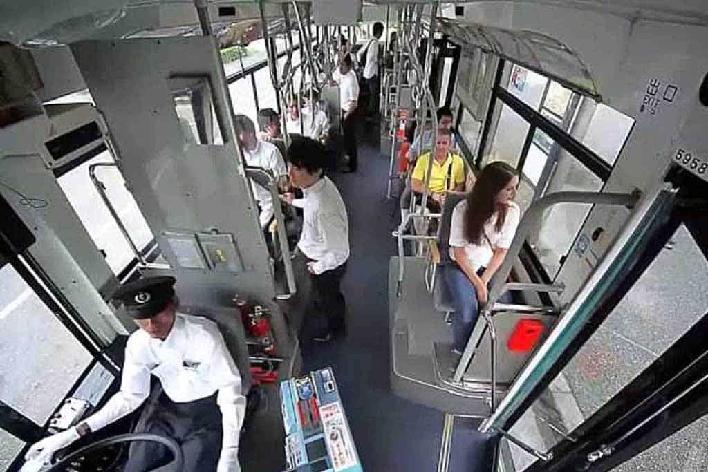 Security-Kamera von Panasonic macht öffentlichen Nahverkehr sicherer