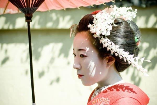Geheimnisvolle Schönheit. Die japanischen Geishas.