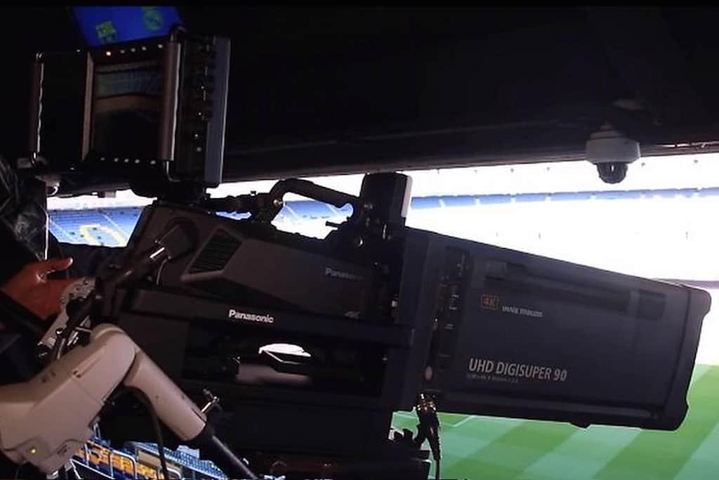 4K-Broadcasting-Equipment für globale TV-Übertragung