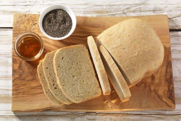 Chia Samen Weizenbrot