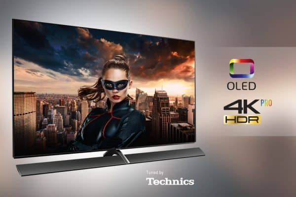 Panasonic OLED TV tuned by Technics