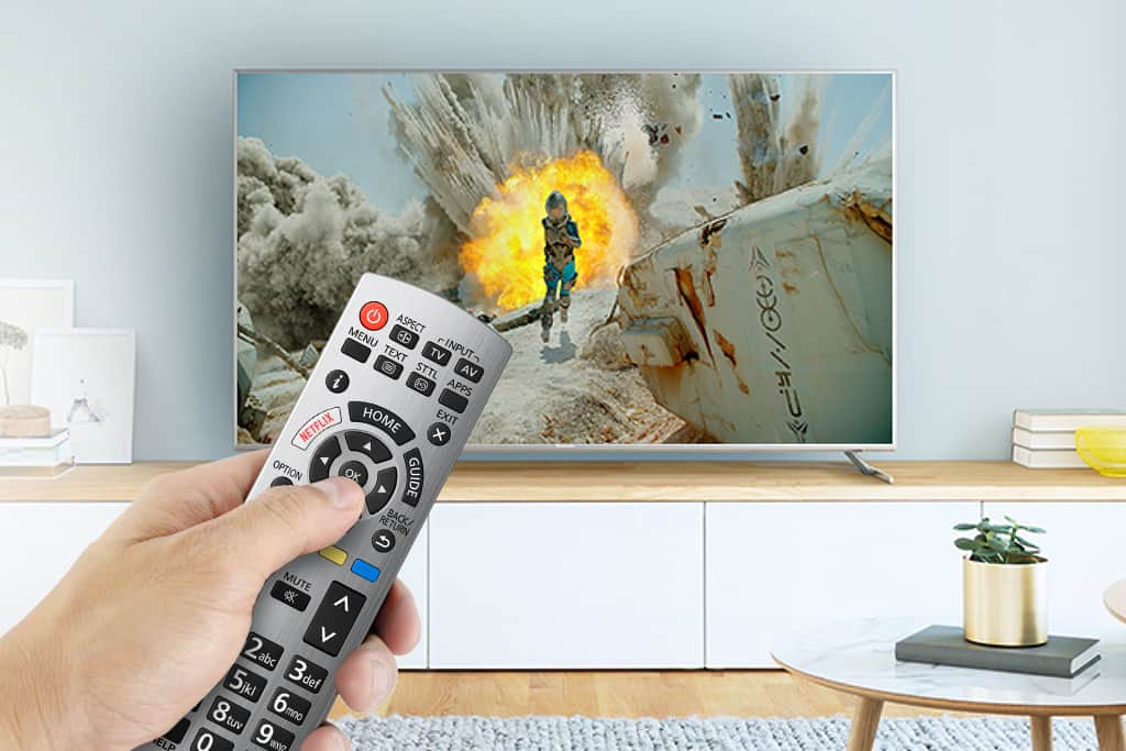 TV Sender sortieren TX-65EXW734 Senderliste 4K TV Fernbedienung