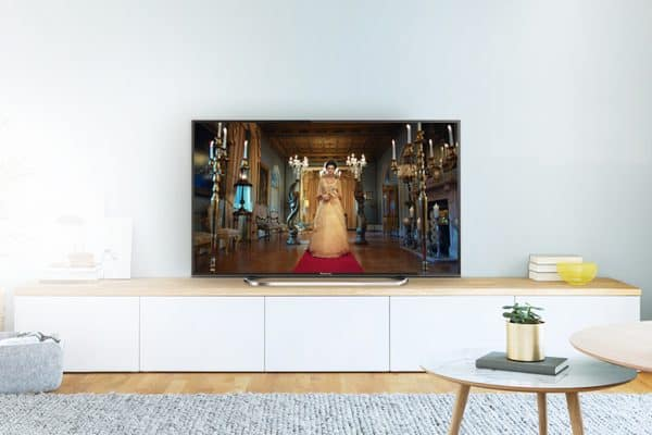 Fernsehen bei Tageslicht