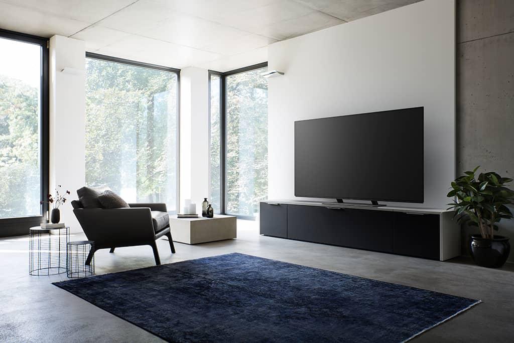 das wohnzimmer im wandel steht das tv ger t weiter im. Black Bedroom Furniture Sets. Home Design Ideas