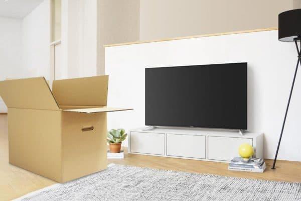 Fernseher sicher transportieren