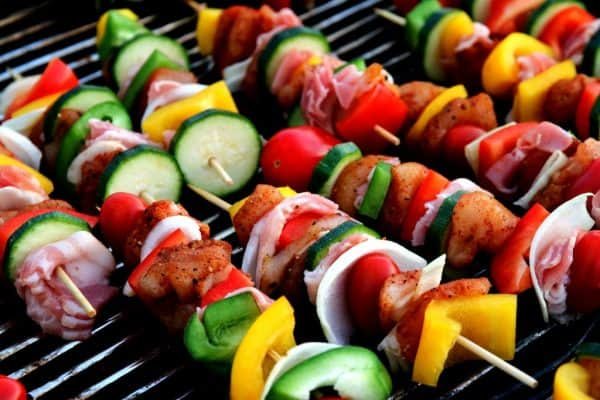 gesunde Barbecues