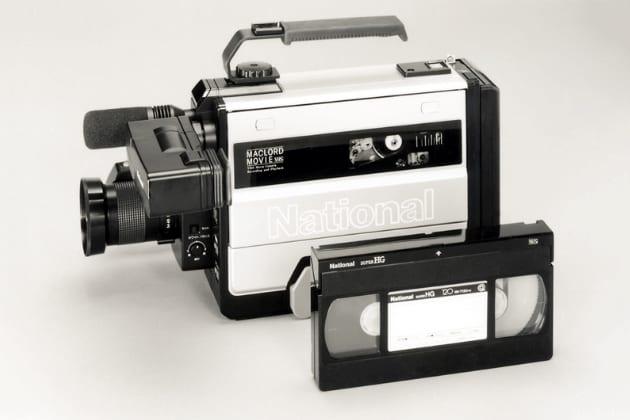 Panasonic erster VHS-Camcorder - Innovationen der 80er