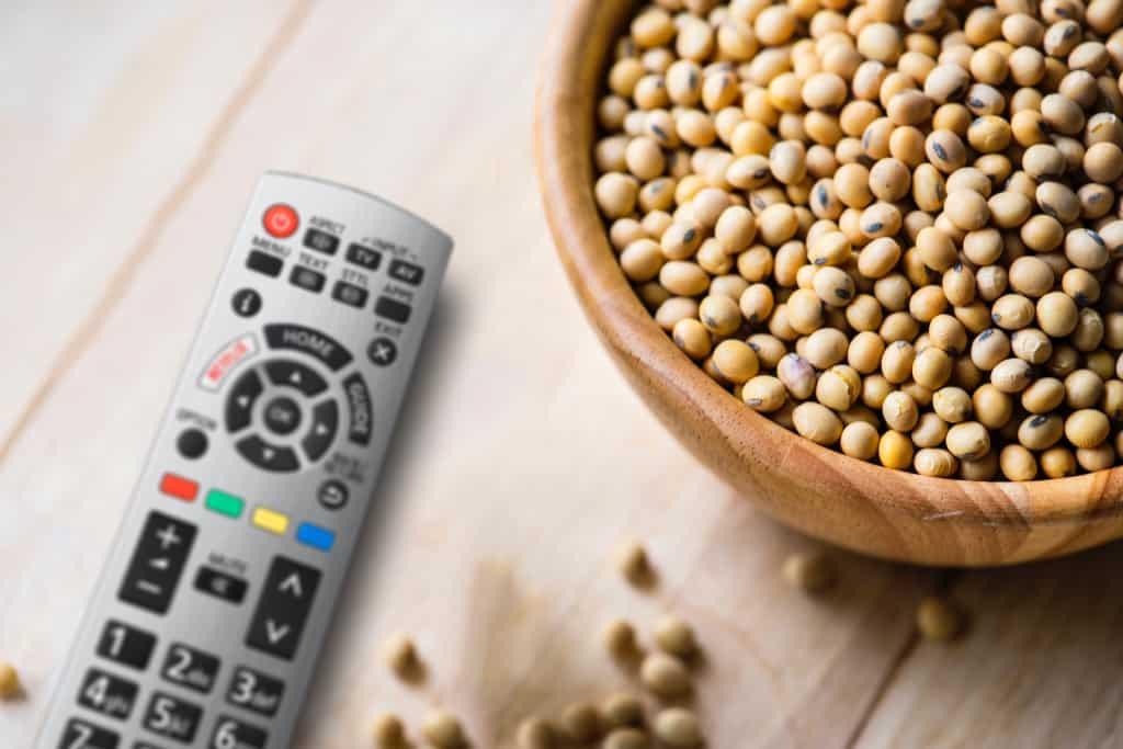 TV-Snacks mal exotisch und gesund.