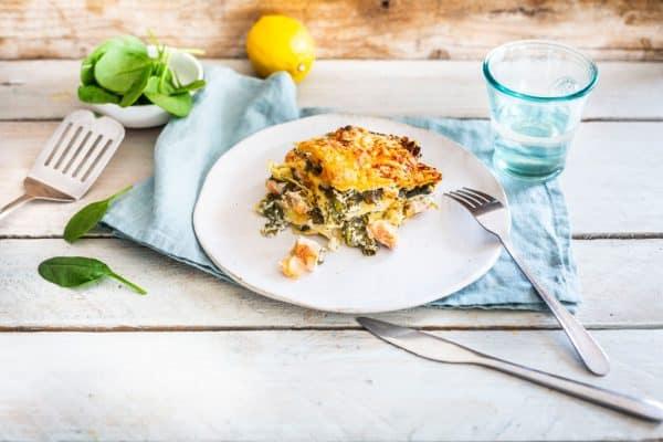 Rezept Lachs-Lasagne