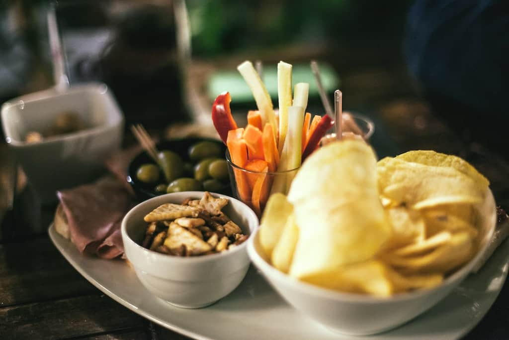Snacks zum Chillen für Ihren gelungenen Filmabend.