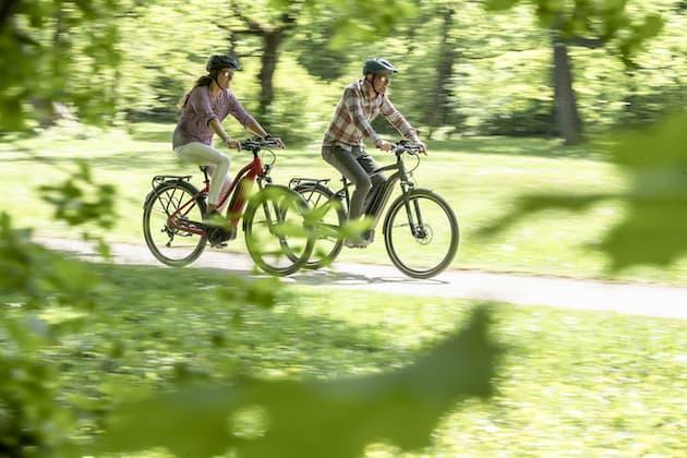 E-Bikes im Trend