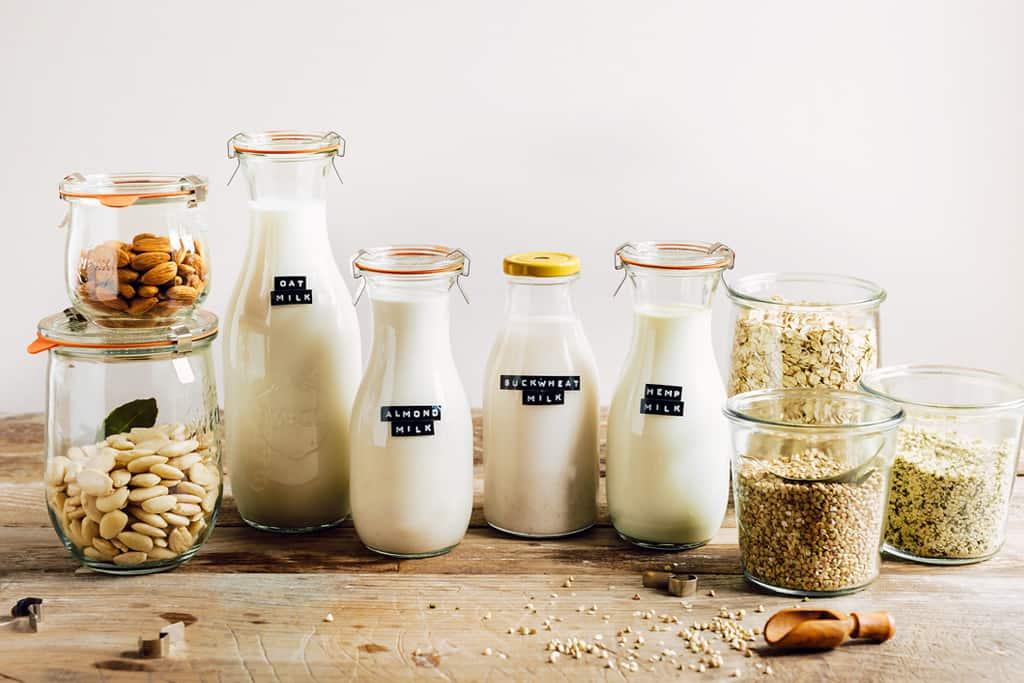 Pflanzliche Milch