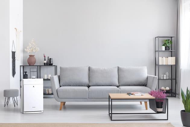 Luftqualität im Wohnraum