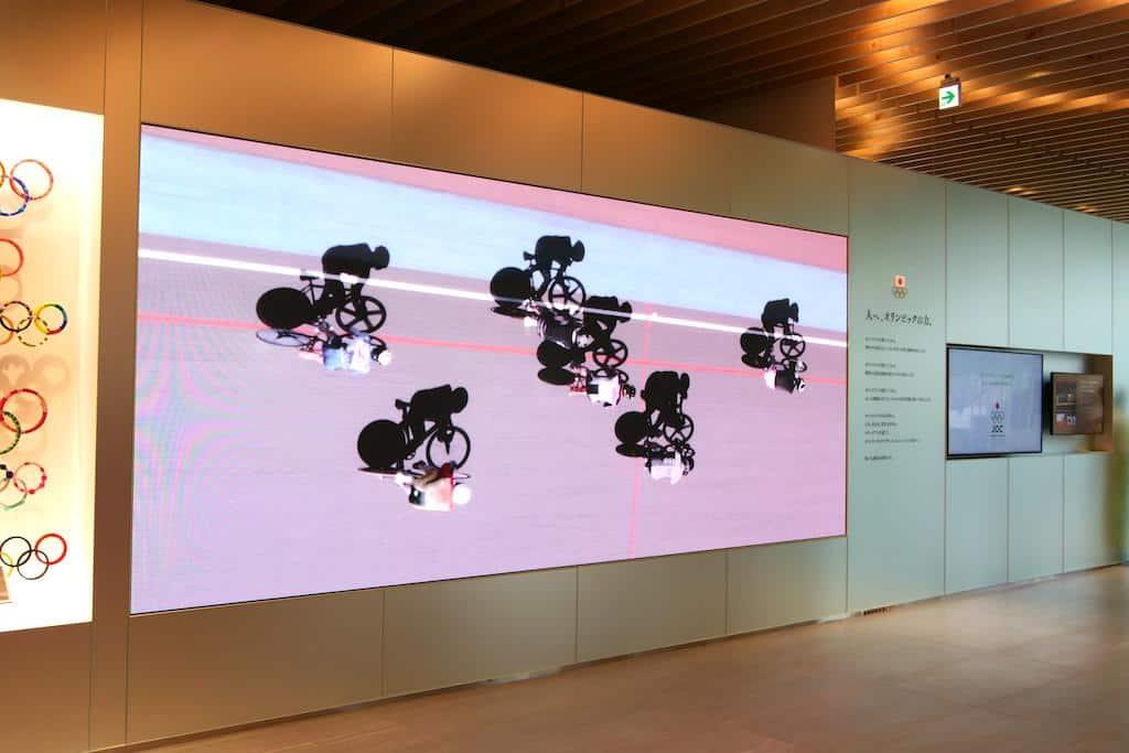 Olympia 2020/21 mit Panasonic: Japan Olympic Museum.