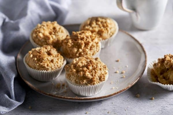 Streusel-Muffins mit Beeren