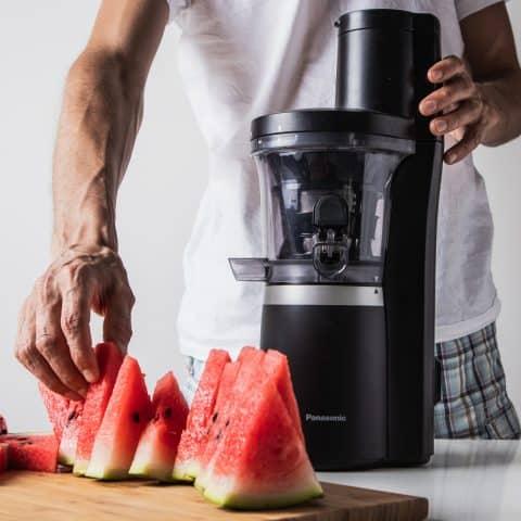 Schritt 1: Wassermelonen ohne Schale entsaften