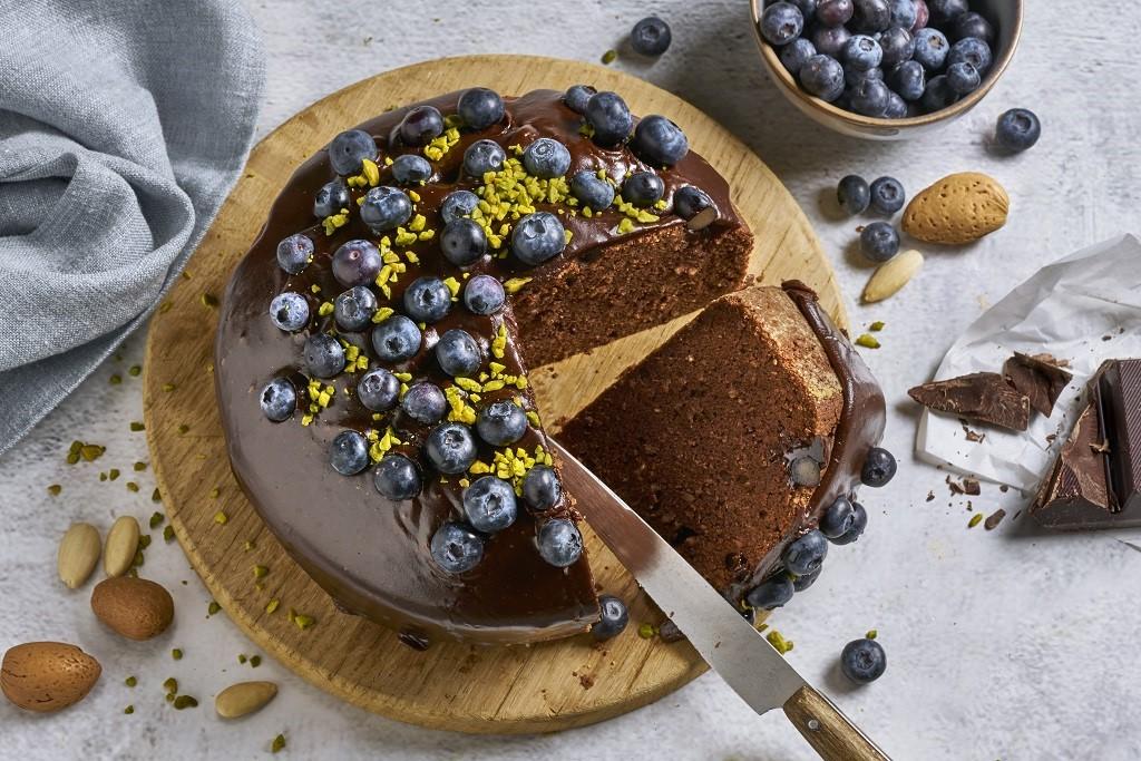 Saftiger Schokoladenkuchen mit nur 20 Minuten Backzeit.