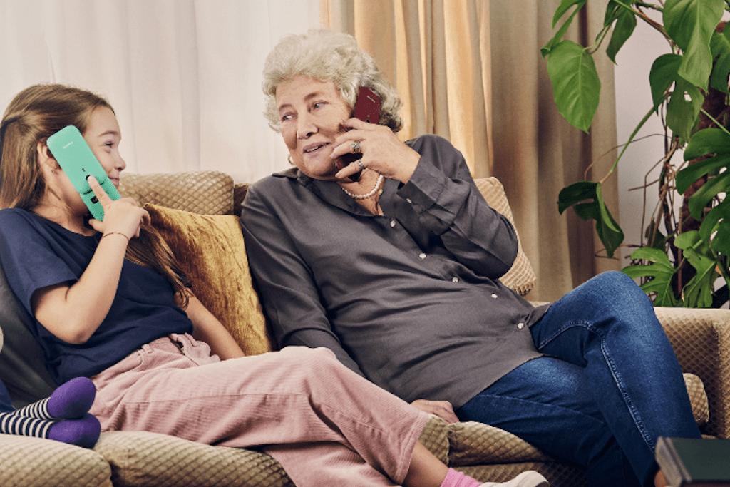 Klapphandy für Senioren
