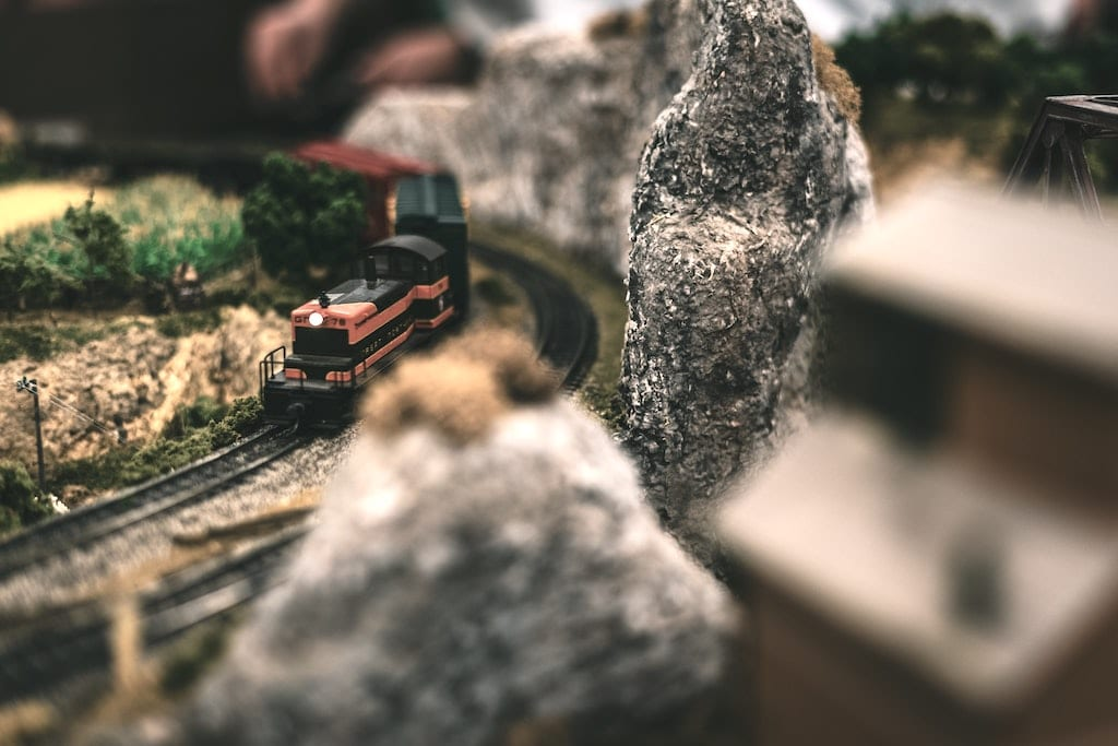 Modelleisenbahn fotografieren