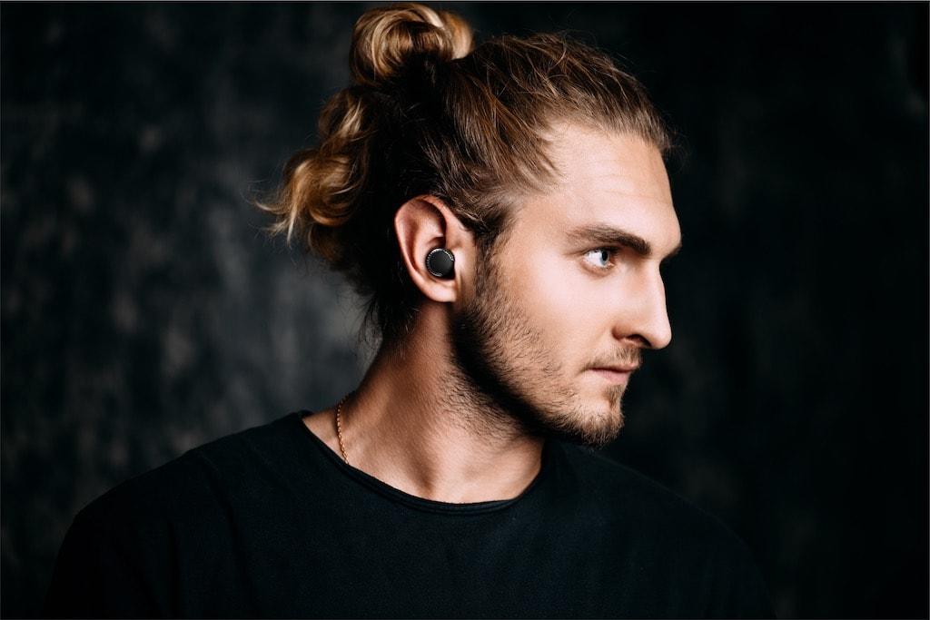 Kopfhörer im Gym
