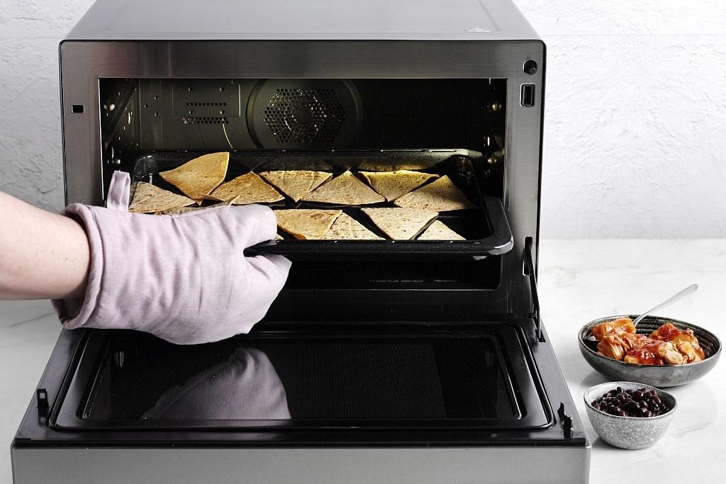 Ideen für den Tex-Mex Abend: ofenfrische Nachos.
