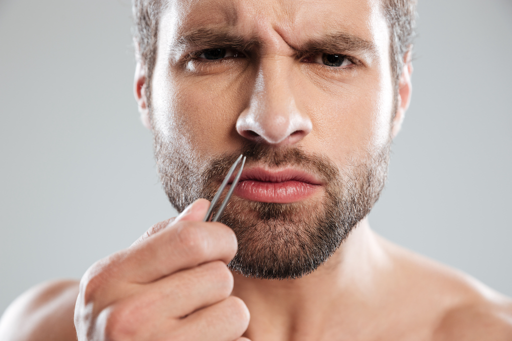 Nasenhaare richtig entfernen
