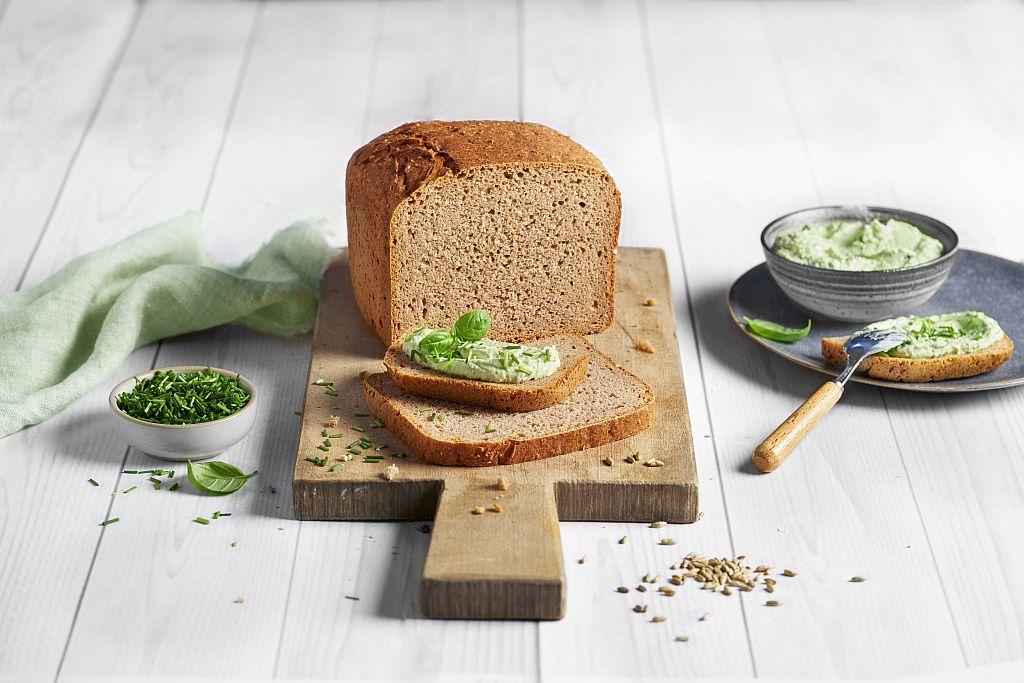 Dinkel-Roggen-Brot.