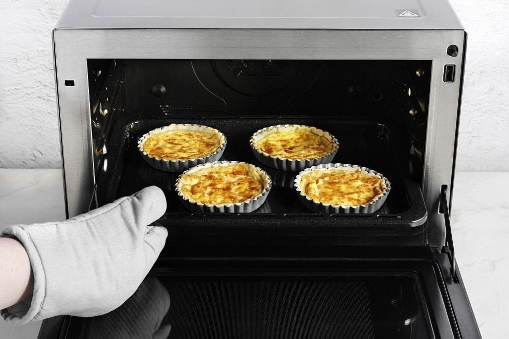 Rezept für Quiche mit Schweizer Käse