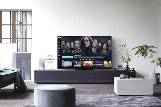 Apps auf dem Fernseher